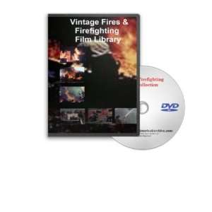 DVD   Fire Prevention and Safety, Fire Department Training, Vintage