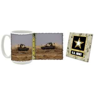 US Army M1 Abrams Tanks Coffee Mug/Coaster: Kitchen