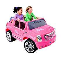 Power Wheels Fisher Price Barbie Cadillac Hybrid Escalade EXT   Pink