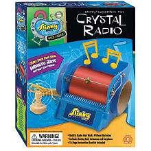 Slinky Science Crystal Radio Kit   Poof Slinky