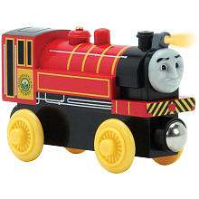 Wooden Talking Railway Engine   Victor   Learning Curve   ToysRUs