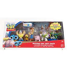 Disney Pixar Toy Story 3 Buddy Figures 7 Pack   Moving Day   Mattel