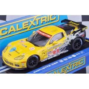 1/32 Scalextric Analog Slot Cars   Chevrolet Corvette C6R