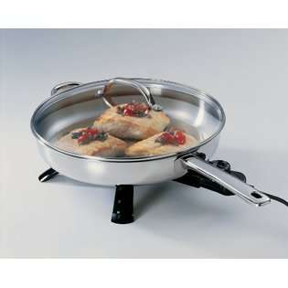 Presto 07300 Stainless Steel Electric Skillet 12 inch at