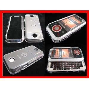 VERIZON MOTOROLA RIVAL A455 CELL PHONE COVER CASE CLEAR