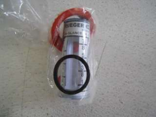 KRUEGER SENTRY GAUGE TYPE D FUEL OIL TANK GAUGE TOP