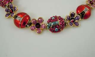 Kirks Folly Lucky Ladybug Bracelet   Average