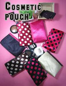 New DOTS Cosmetics Makeup Sanitarypad Pouch hand bag Case
