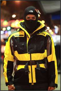 Face Mens STEEP TECH TRANSFORMER JACKET OLD YELLOW AGPTG09 winter ski