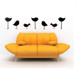 Birds Vinyl Wall Decal Sticker Graphic