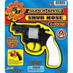 Super Bang Snub Nose Cap Gun Toy Everything Else