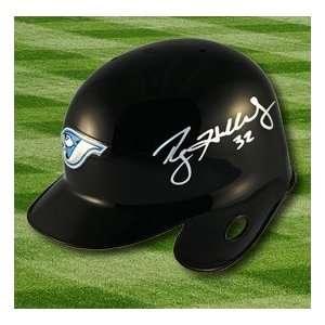 Roy Halladay Blue Jays Autographed/Hand Signed Mini Helmet