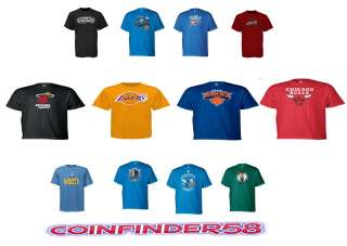 NBA adidas Primary Logo T Shirt Assorted Teams