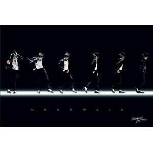 Michael Jackson   Moonwalk, Music Poster   36x24