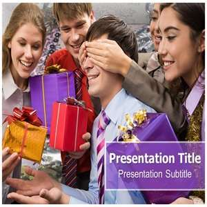 Surprise PowerPoint Template   Background PowerPoint Templates on