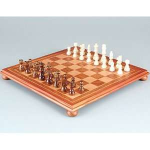 Burl Table Top Chess Set Toys & Games