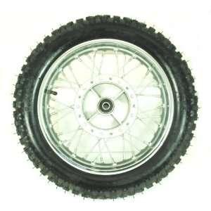 12 Dirt Bike Rear Wheel Assembly: Sports & Outdoors