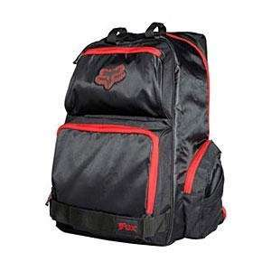 Fox Racing Cyborg Backpack   Black/Red Automotive