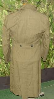 VIETNAM 197O MARINE CORP USMC WOOL OVERCOAT TRENCH COAT
