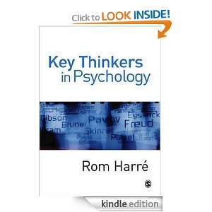 : Key Thinkers in Psychology eBook: Professor Rom Harre: Kindle Store