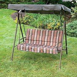 & Fisher Riverside/Naples 2 Seater Swing Replacement Canopy