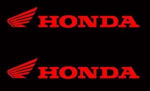 HONDA STICKER DECAL PACK MX CR CRF ATV MOTORCYCLE CBR FOUR TRAX AQUA