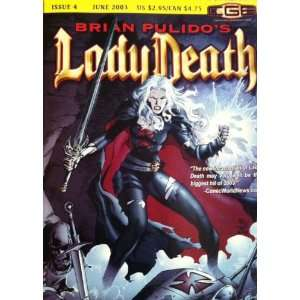 Lady Death: A Medieval Tale 4: Pulido, Reis: Books