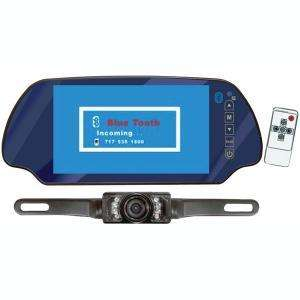 PYLE PLCM7300BT LICENSE PLATE BACK UP CAMERA with MONITOR