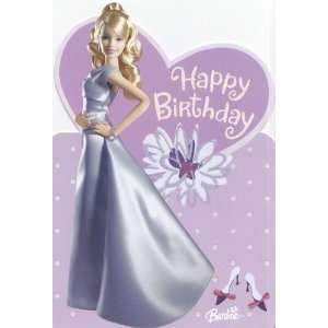 Greeting Card Birthday Barbie Happy Birthday Nieces