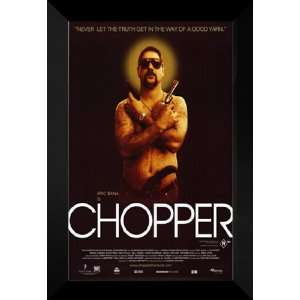 Chopper 27x40 FRAMED Movie Poster   Style B   2001: Home