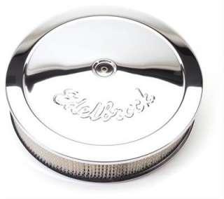 Edelbrock 1221 Round Chrome Air Cleaner 14 X 3