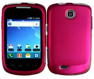Pink Samsung Galaxy Mini GT S5570 Faceplate Snap on Phone Cover Hard
