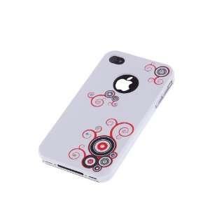 Designer Diamond Red Swirl iPhone Case / Skin / Cover for Apple iPhone