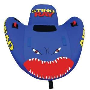 KWIK TEK AIRHEAD STING RAY 1 INFLATABLE TOWABLE 1 RIDER