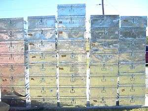 METAL BOXES foot locker shipping trunk storage dewalt tools container
