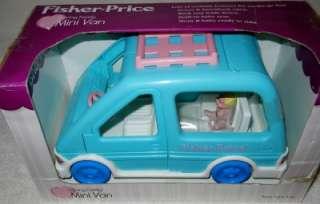 Fisher Price Loving Family Mini Van Age 3+ Doors & Hatch Open Seat