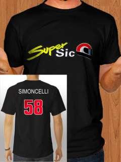 Marco Simoncelli RIP Memorial Tribute Super Sic 58 Moto GP Italy T