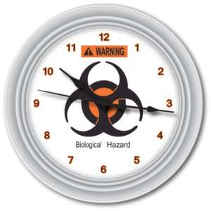 Bio Hazard Wall Clock Zombie Resident Evil GREAT GIFT