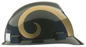 St Louis Rams NFL MSA V Gard Hard Hat NEW Type 1