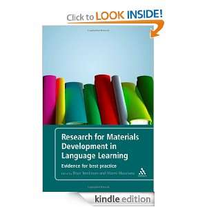 Materials Development in Language Learning: Evidence For Best Practice