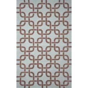 Spello Chains Driftwood Outdoor Patio Furniture Rug 83 X
