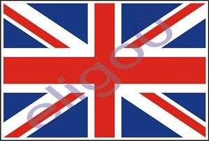 BRITISH FLAG VINYL STICKER DECAL UK UNION JACK BRITAIN