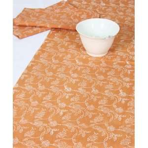 Wedding Gift; 100% Cotton Table Runner; Hand Printed Table Linen; Size