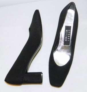 STUART WEITZMAN Classic Black Pumps Heels Shoes 6 M