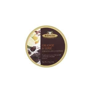 Simpkins Choc Lime & Choc Orange Drops (Economy Case Pack) 6 Oz Tin