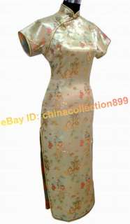 Chinese Women Long Cheongsam Evening Dress/Qipao WLD 02