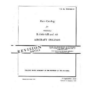 4360  59 B  65 Aircraft Engine Parts Manual Pratt & Whitney Books