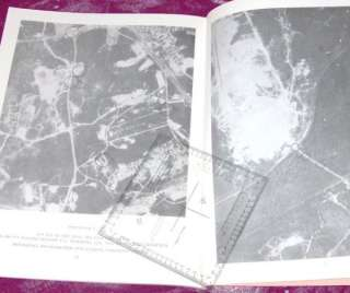 ARMY MAP AERIAL PHOTOGRAPHS BOOKLET FT BENNING GA 1966