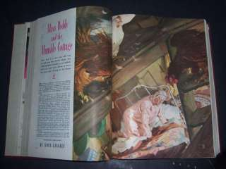 BOUND GOOD HOUSEKEEPING MAGAZINES Vol 118 Jan June 1944 Home SEWING
