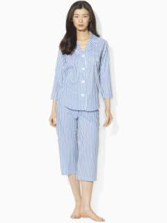 Cotton Capri PJ Set   Sleepwear & Hosiery Women   RalphLauren